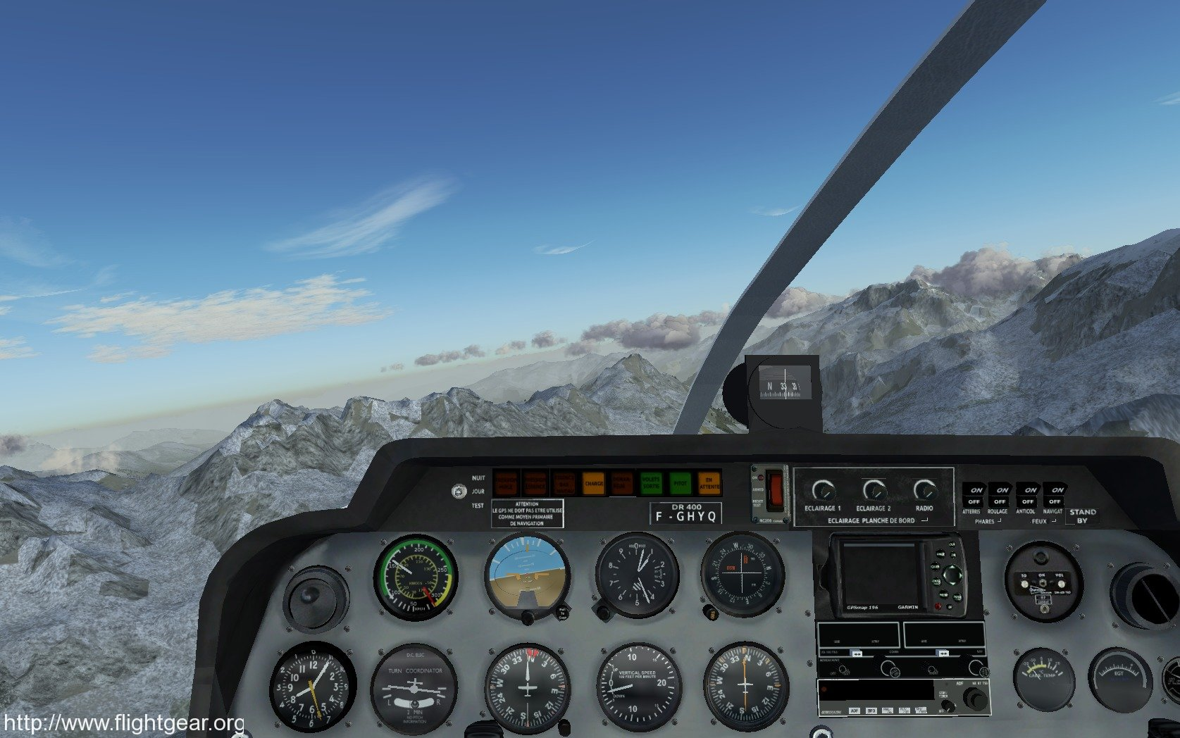 FlightGear screenshot