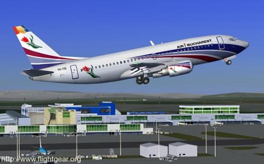 FlightGear screenshot