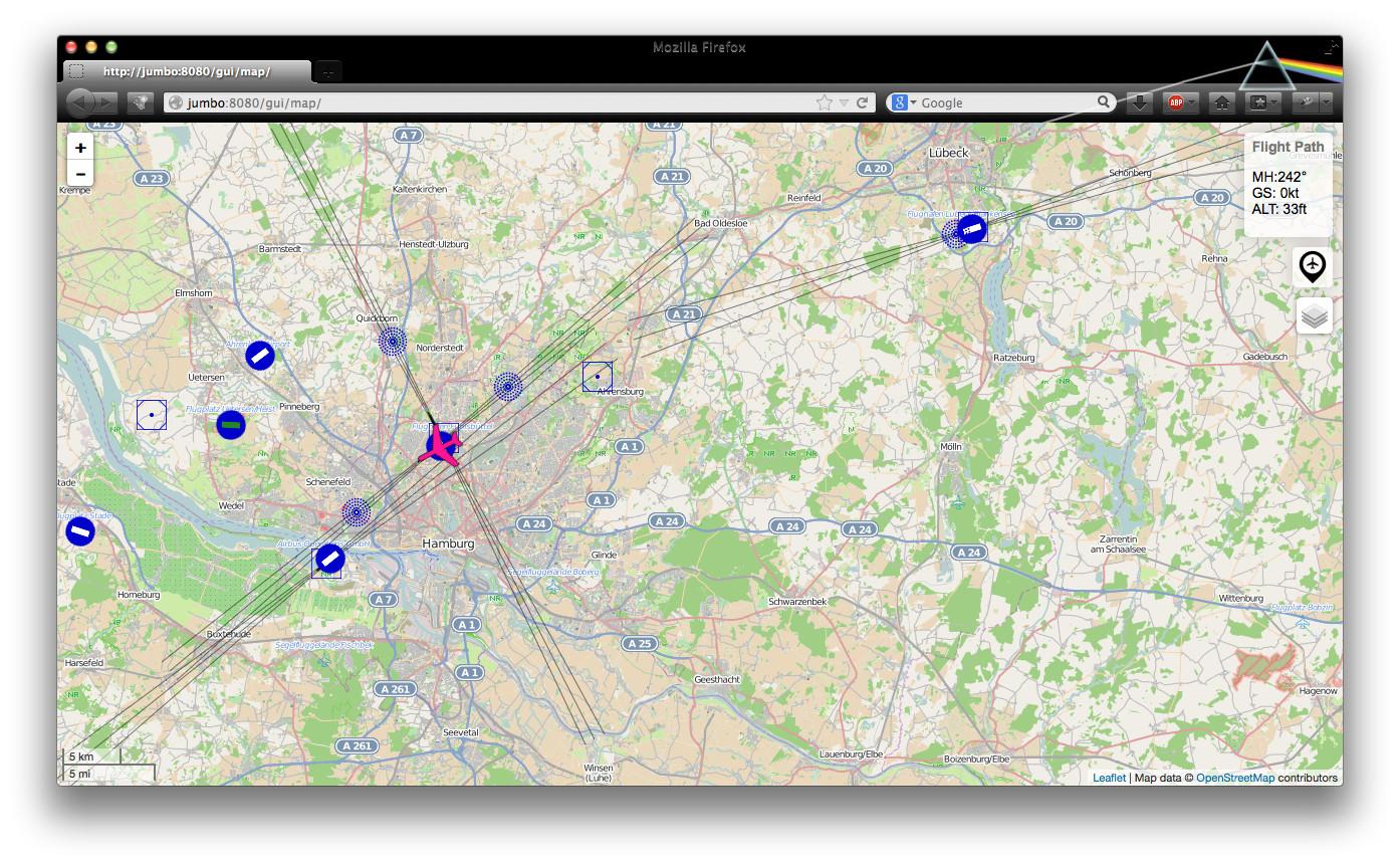Flightgear http intégré