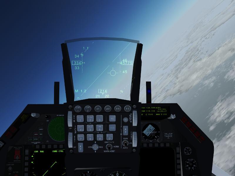 Flightgear horizon