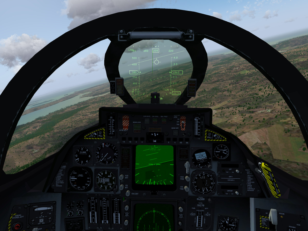 The F-14b is back – FlightGear Flight Simulator