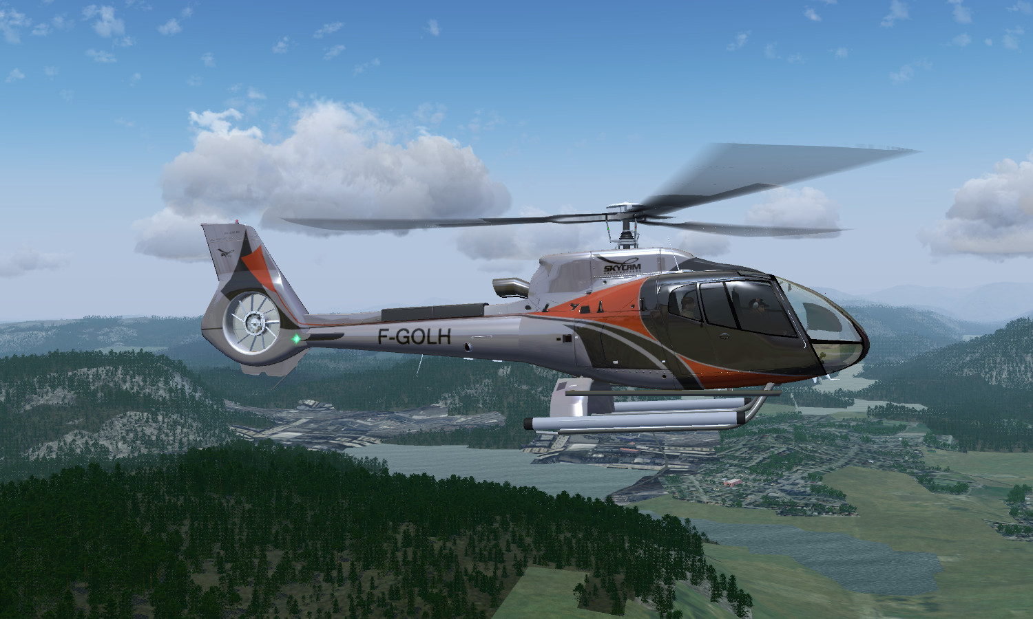 Helicopters in Flightgear – FlightGear Flight Simulator